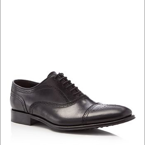 To Boot Other - To Boot New York David Medallion Black Shoes 13